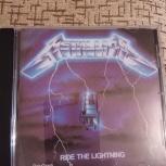 Компакт-диск гр. Metallica., Челябинск