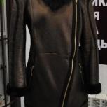 Женская дубленка с искусственным мехом, Челябинск
