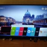 новый телевизор 4К lg 43uj631v,весь в пленке+чек+гарантия+коробка, Челябинск