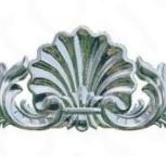 Декоративный элемент для мебели (ракушка), Челябинск