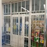 Решетки на двери для Магазинов киосков, Челябинск