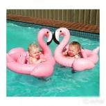 Надувной фламинго детский новый розовый, Челябинск
