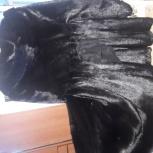 Норковая шуба 44 р-р черный бриллиант, Челябинск