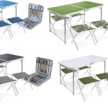 Набор туристической складной мебели стол 4 стула, Челябинск