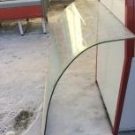 Изготавливаем гнутые стекла на витрины в Челябинске, Челябинск