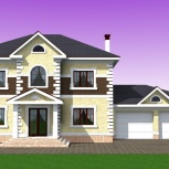Новые проекты домов, коттеджей, вилл и особняков 2018 года, Челябинск