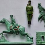 Солдатики Рижские Солдатени Брестская крепость 4 шт, Челябинск