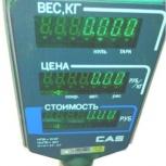 Торговые весы с принтером с печатью этикетки и штрих-кода 2штуки, Челябинск