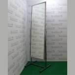 Зеркало напольное на колесах, 550lх1774hx505dмм,  рама хром, st-03k, Челябинск