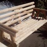 Продам деревянную  скамейку, Челябинск