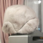 Шапка ушанка из норки, размер 54-55, Челябинск