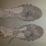 Босоножки женские, 38 размер, кожа, Челябинск