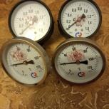 Манометр, 1,6 MPa,ТМЗ, 2 шт. и термометр биметалл. ТИМ 120 БТЗ, 2 шт., Челябинск