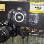 Зеркальный фотоаппарат Nikon D3100 Kit, Челябинск
