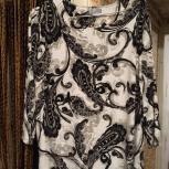 Блузка женская свободного покроя, р.50-52, очень женственная, Челябинск