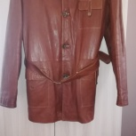 Продам мужскую кожаную куртку Mondial, Челябинск
