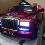 Детский электромобиль Rolls-Royce, Челябинск