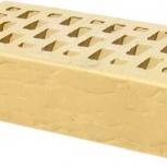Лицевой керамический кирпич TEREX Слоновая кость рустик облицовочный, Челябинск