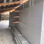 Металлические пристенные стеллажи L900 H2500 6 сек, Челябинск