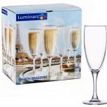 Бокалы luminarc French Brasserie шампанское 6шт, Челябинск