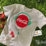 Футболка М Coca-Cola/Кока-Кола, Челябинск