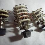 Переключатели ПГК – переключатели галетные керамические, Челябинск