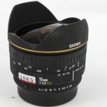 Фишай Sigma AF 15 mm 1:2.8 EX (Pentax), Челябинск