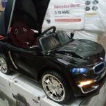 Детский электромобиль BMW кабриолет чёрный, Челябинск