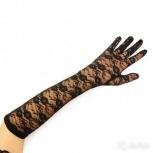 Карнавальные перчатки длинные кружевные, Челябинск