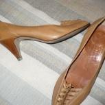 Туфли рыжие «Gaby» (Испания), р.39, Челябинск