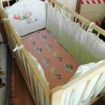 Детская (и для новорожденных) кроватка-качалка в комплекте, Челябинск