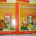 Ф.Е. Соловьева Рабочая тетрадь по литературе 5 класс, 2 части, Челябинск