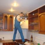 Ремонт сборка-разборка перетяжка, изготовление мебели на дому в офисе, Челябинск