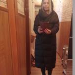 Новое зимнее пуховое пальто 44-50, Челябинск