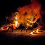 Огненное шоу (фаер-шоу, fire show) в Челябинске и Троицке, Челябинск