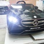 Детский электромобиль mercedes-benz s63 amg coupe, Челябинск