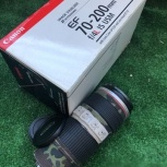 Объектив Canon 70-200 F4L IS USM со стабилизатором, Челябинск