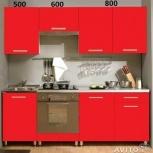 Новая кухня, модель Джаз, красная, Челябинск