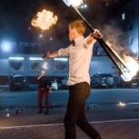 Огненное шоу (фаер-шоу, fire show) в Челябинске и Троицке., Челябинск
