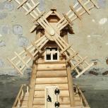 Декоративная   мельница  деревянная, Челябинск