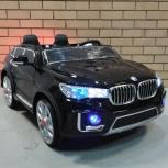 Детский электромобиль BMW двухместный, Челябинск