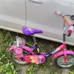 Велосипед Camilla детский от 3 лет розовый в отличном состоянии, Челябинск