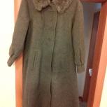 Пальто зимнее серое новое р.46, 140-152см, Челябинск