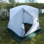 Палатка куб-2  3-х слойн стальная хаба уралзонт, Челябинск