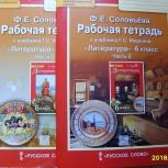 Ф.Е. Соловьева Рабочая тетрадь по литературе 6 класс, 2 части, Челябинск