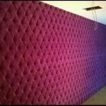 Каретная стяжка. Мягкие панели, стены в каретной стяжке, Челябинск