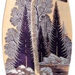 Златоустовская гравюра на стали В предрассветный час СССР, Челябинск