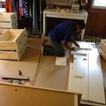 Изготовление, сборка, ремонт мебели, дверей, окон. Монтаж полов, стен, Челябинск