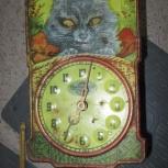 Часы - ходики с кошкой, Челябинск