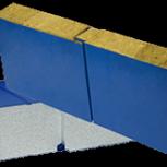 Стеновая (фасадная) сэндвич-панель ПСМ и ПСП 50 мм, Челябинск